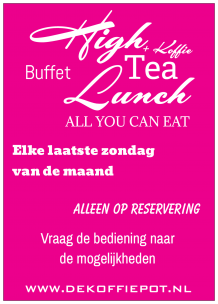 BUFFET 26 APRIL 15:00 tot 18:00
